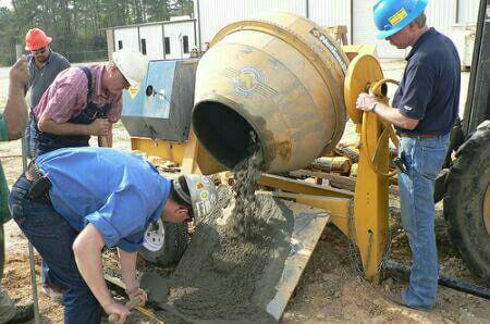 اصول ساخت و اجرای بتن دستی در کارگاه های ساختمانی