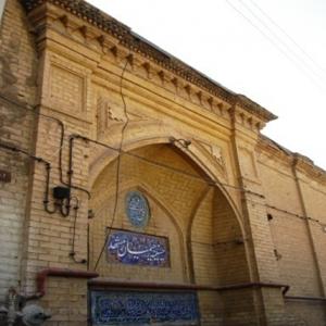 طرح مرمت حسینیه رحیمیان مشهد