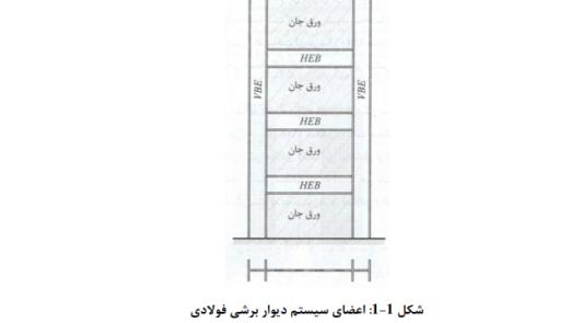 دانلود جزوه معرفی سیستم های باربر جانبی: دیوارهای برشی فولادی